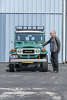 BNPS.co.uk (01202 558833)<br /> Pic: PawelLitwinski/Bonhams/BNPS<br /> <br /> PICTURED: The 1980 Toyota FJ40 was commissioned by Hanks to be suitable for roads and wild terrain. The car has an upgraded 2000 V-6 engine. This vehicle is also signed by the star and sold for £89,107<br /> <br /> The airstream trailer superstar Tom Hanks used on film sets for over 30 years has sold for £170,000.<br /> <br /> The award-winning actor bought and personally equipped the trailer in 1993 and made it his 'home away from home' on 18 different movie sets across America.<br /> <br /> The Hollywood star decided to put his 1992 Airstream up for auction at Bonhams in LA, along with the Ford pickup he used to tow it, his high-performance Tesla Model S and a 1980 Toyota Land Cruiser.<br /> <br /> In total the vehicles sold for £368,577.