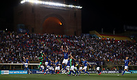 Football: Uefa European under 21 Championship 2019, Italy - Spain Renato Dall'Ara stadium Bologna Italy on June16, 2019.<br /> Italy's players celebrate after winning 3-1 the  Uefa European under 21 Championship 2019 football match between Italy and Spain at Renato Dall'Ara stadium in Bologna, Italy on June16, 2019.<br /> UPDATE IMAGES PRESS/Isabella Bonotto