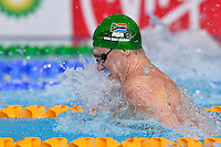 Cameron van der Burgh of RSA competes in 50 meter breaststroke final during Commonwealth Games Swimming, Monday, July 28, 2014 in Glasgow, United Kingdom. (Mo Khursheed/TFV Media via AP Images)