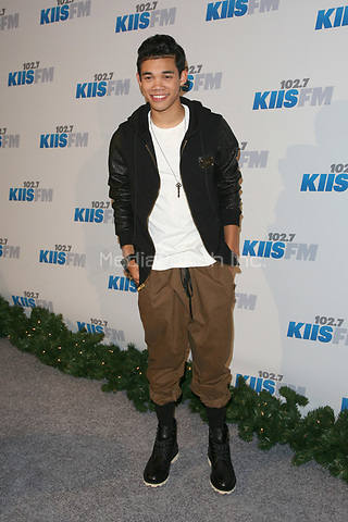 LOS ANGELES, CA - DECEMBER 01: Roshon Fegan at KIIS FM's 2012 Jingle Ball at Nokia Theatre L.A. Live on December 1, 2012 in Los Angeles, California. Credit: mpi21/MediaPunch Inc.