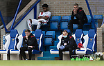St Johnstone v Brechin City…10.10.20   McDiarmid Park  Betfred Cup<br />Brechin manager Mark Wilson watches his side lose two goals in the first half<br />Picture by Graeme Hart.<br />Copyright Perthshire Picture Agency<br />Tel: 01738 623350  Mobile: 07990 594431