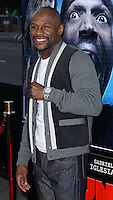 """LOS ANGELES, CA, USA - APRIL 16: Floyd Mayweather Jr. at the Los Angeles Premiere Of Open Road Films' """"A Haunted House 2"""" held at Regal Cinemas L.A. Live on April 16, 2014 in Los Angeles, California, United States. (Photo by Xavier Collin/Celebrity Monitor)"""