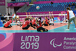 Julie Kozun, Lima 2019 - Sitting Volleyball // Volleyball assis.<br />