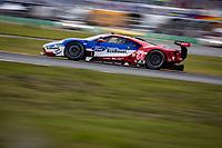 26-29 January, 2017, Daytona Beach, Florida USA<br /> 66, Ford, Ford GT, GTLM, Joey Hand, Dirk Muller, Sebastien Bourdais leads GTLM<br /> ©2017, Barry Cantrell<br /> LAT Photo USA