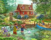 Liz,LANDSCAPES, LANDSCHAFTEN, PAISAJES, LizDillon, paintings+++++,USHCLD0293,#L#, EVERYDAY ,puzzle,puzzles