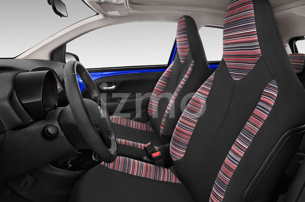 Front seat view of a 2018 Citroen C1 Airscape Shine 5 Door Hatchback front seat car photos