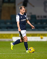 29th December 2020; Dens Park, Dundee, Scotland; Scottish Championship Football, Dundee FC versus Alloa Athletic; Paul McGowan of Dundee looks for a passing outlet