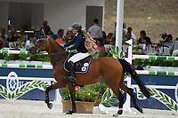 10th September 2021; Circo Massimo Stadium Rome, Italy; Longines Global Equestrian Champions Tour:   Dani G.Waldman