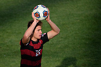 Chester, PA - Sunday December 10, 2017: Logan Panchot. Stanford University defeated Indiana University 1-0 in double overtime during the NCAA 2017 Men's College Cup championship match at Talen Energy Stadium.