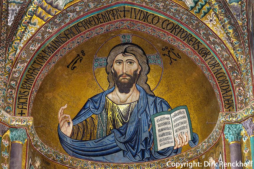 Dom in Cefalu, Sizilien, Italien Dom in Cefalu, Sizilien, Italien, UNESCO-Weltkulturerbe