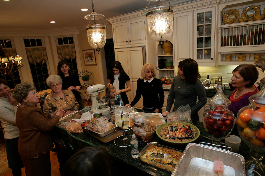 Thanksgiving 2008.  Morristown, NJ.