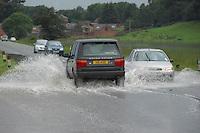 Flooding near Welshpool.