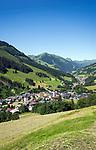 Oesterreich, Salzburger Land, Saalbach-Hinterglemm: beliebter Urlaubsort bei Zell am See | Austria, Salzburger Land, Saalbach-Hinterglemm: popular resort near Zell am See