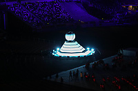 5th September 2021; Tokyo, Japan, 2020 Paralympic Games, closing ceremony:  The flame in the Cauldron is extinguished during the closing ceremony