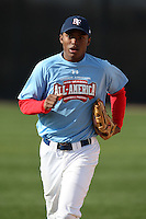 January 17, 2010:  Jo'el Bennett (Midland City, AL) of the Baseball Factory Coastal Team during the 2010 Under Armour Pre-Season All-America Tournament at Kino Sports Complex in Tucson, AZ.  Photo By Mike Janes/Four Seam Images