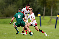Saturday 8th September 2018 | Ulster U19s vs Connacht U19s<br /> <br /> Chris Larmour during the U19 Inter-Pro between Ulster and Connacht at Bangor Grammar School, Bangor, County Down, Northern Ireland. Photo by John Dickson / DICKSONDIGITAL