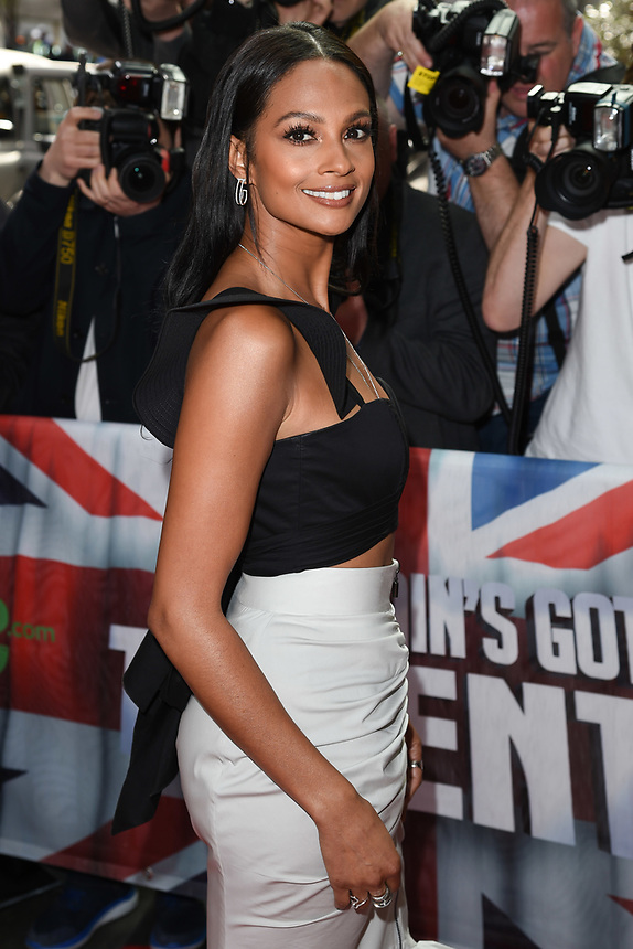 Alesha Dixon<br /> arriving at the launch of Britain's Got Talent 2017, Mayfair Hotel, London. <br /> <br /> <br /> ©Ash Knotek  D3247  12/04/2017