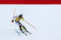 21st December 2020; Alta Badia Ski Resort, Dolomites, Italy; International Ski Federation World Cup Slalom Skiing; Alexis Pinturault (FRA) comes through the finish gate