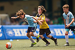 Players in action during the HKFC Citibank Junior Soccer Sevens on 15 May 2016 at the Hong Kong Football Club in Hong Kong, China. Photo by Victor Fraile / Power Sport Images