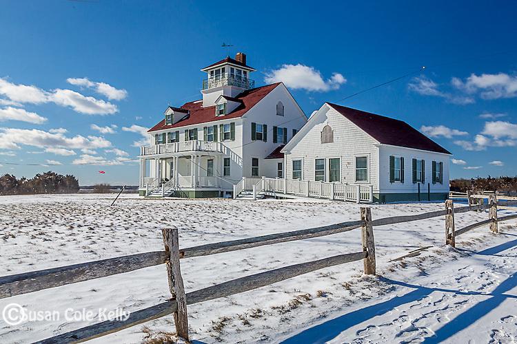 The old lifesaving station at Coast Guard Beach, Cape Cod National Seashore, Eastham, Massachusetts, USA