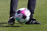 Fussball beim Schuss  beim Spiel in der 2. Bundesliga, SV Sandhausen - Wuerzburger Kickers.<br /> <br /> Foto © PIX-Sportfotos *** Foto ist honorarpflichtig! *** Auf Anfrage in hoeherer Qualitaet/Aufloesung. Belegexemplar erbeten. Veroeffentlichung ausschliesslich fuer journalistisch-publizistische Zwecke. For editorial use only. For editorial use only. DFL regulations prohibit any use of photographs as image sequences and/or quasi-video.