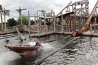 Bootrutsche im Grizzly Adventure Bay - Jaderberg 21.07.2020: Tier- und Freizeitpark Jaderpark