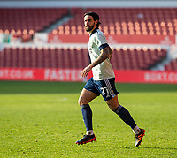 9th January 2021; City Ground, Nottinghamshire, Midlands, England; English FA Cup Football, Nottingham Forest versus Cardiff City; Marlon Pack of Cardiff City