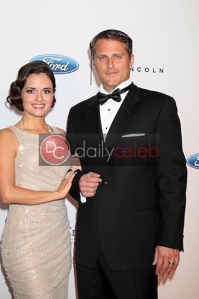 Danica McKellar, Scott Sveslosky<br /> at the 41st Annual Gracie Awards Gala, Beverly Wilshire Hotel, Beverly Hills, CA 05-24-16<br /> David Edwards/DailyCeleb.com 818-249-4998