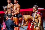 Winners of the South China Men's Fitness Physique category during the 2016 Hong Kong Bodybuilding Championships on 12 June 2016 at Queen Elizabeth Stadium, Hong Kong, China. Photo by Lucas Schifres / Power Sport Images