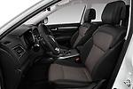Front seat view of a 2017 Renault Koleos Zen 5 Door SUV front seat car photos