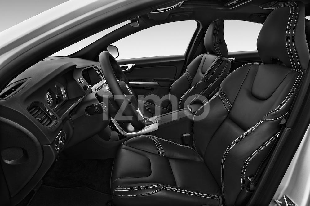 Front seat view of 2018 Volvo S60 R-Design 4 Door Sedan Front Seat  car photos
