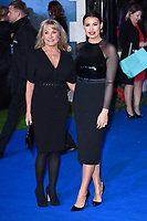 """Carol and Jessica Wright<br /> arriving for the """"Mary Poppins Returns"""" premiere at the Royal Albert Hall, London<br /> <br /> ©Ash Knotek  D3467  12/12/2018"""
