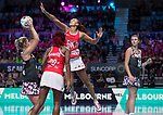 28/10/17 Fast5 2017<br /> Fast 5 Netball World Series<br /> Hisense Arena Melbourne<br /> England v Sth Africa<br /> Geva Mentor<br /> <br /> <br /> <br /> <br /> Photo: Grant Treeby