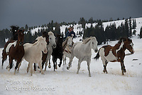 Cowboys in WinterFine Art Photography of