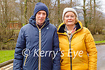 Enjoying a stroll at Ross Castle in Killarney on Sunday, l to r: John Reidy and Eileen O'Donoghue.