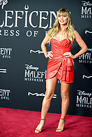 """LOS ANGELES, USA. September 30, 2019: Heidi Klum at the world premiere of """"Maleficent: Mistress of Evil"""" at the El Capitan Theatre.<br /> Picture: Jessica Sherman/Featureflash"""