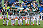 SD Eibar squad pose for team photo during the La Liga 2017-18 match between Getafe CF and SD Eibar at Coliseum Alfonso Perez Stadium on 09 December 2017 in Getafe, Spain. Photo by Diego Souto / Power Sport Images