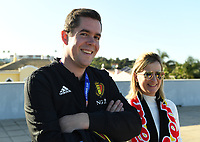 20200307  Parchal , Portugal : Belgian Cook Louis pictured during the female football game between the national teams of Belgium called the Red Flames and Portugal on the second matchday of the Algarve Cup 2020 , a prestigious friendly womensoccer tournament in Portugal , on saturday 7 th March 2020 in Parchal , Portugal . PHOTO SPORTPIX.BE | DAVID CATRY