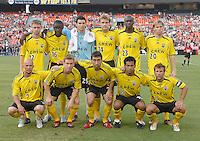 Columbus Crew Starting XI. DC United defeated the Columbus Crew 3-2, Saturday, July 15, 2006.