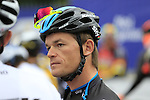 Newly crowned World Time Trial Champion Vasil Kiryienka (BLR) Team Sky at the start of the 2015 96th Milan-Turin 186km race starting at San Giuliano Milanese, Italy. 1st October 2015.<br /> Picture: Eoin Clarke | Newsfile