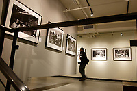 """Montreal (Qc) CANADA- November 13, 2007 -<br /> <br /> Andy Summers will welcome 400 VIPs<br /> during a special opening evening at the Galerie MX on November 13, 2007 for his exhibit :<br /> <br /> """"I'LL BE WATCHING YOU:<br /> INSIDE THE POLICE 1980-1983""""<br /> <br />  Summers, one of the most prolific guitarists of all time, is now in the<br /> midst of The Police sold-out tour celebrating their 30th reunion. Andy Summers<br /> heralds his return with a biathlon of photographic output: an exclusive<br /> photographic exhibition in five cities, which have been produced by HP on its<br /> new HP Designjet Z3100 Photo Printer series, and a book published by Taschen.<br /> The gallery shows, presented in conjunction with Rockarchive.com began in June<br /> at the Laurie Frank Gallery in the famed Los Angeles art complex Bergamot<br /> Station, and will be followed by similar exhibitions in July at Newbury Fine<br /> Art in Boston and Gjethuset in Denmark.<br /> photo (c) Pierre Roussel -   Images Distribution"""