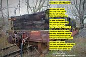 Retired old rail car
