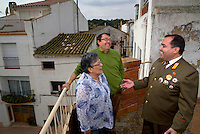A portrait of Alejandro Cao de Benos, photographed in the village of Salomo in northeast Spain with his parents Rafael and Elvira. As a Korean-Spanish communist, Alejandro is the president of the Korean Friendship Association (KFA) and has been an advocate of the Democratic People's Republic of Korea (North Korea) since 1990. His Korean name is Zo Sun-il (Korea is One) and he works as an honorary Special Delegate of the DPRK's Committee for Cultural Relations with Foreign Countries - a North Korean government spokesman in Europe.