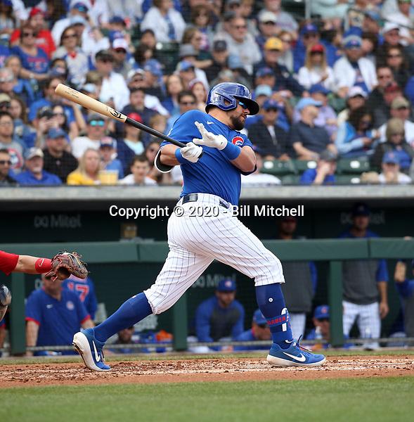 Kyle Schwarber - Chicago Cubs 2020 spring training (Bill Mitchell)