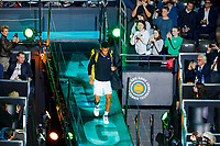 Rotterdam, The Netherlands, 15 Februari 2020, ABNAMRO World Tennis Tournament, Ahoy,<br /> Mens Final: Felix Auger-Aliassime (CAN).<br /> Photo: www.tennisimages.com