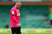 3rd October 2020; Carrow Road, Norwich, Norfolk, England, English Football League Championship Football, Norwich versus Derby; Wayne Rooney of Derby County