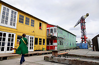 Nederland  Amsterdam-  2020.   Amsterdam Noord. Treehouse. Werkplekken bij de NDSM Werf.     Foto : ANP/ HH / Berlinda van Dam