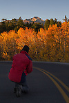 Longs Peak sunrise, Rocky Mountain National Park, Colorado.