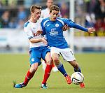 Robbie Crawford and Daniel Carmichael