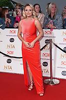 Emily Atack<br /> arriving for the National Television Awards 2021, O2 Arena, London<br /> <br /> ©Ash Knotek  D3572  09/09/2021